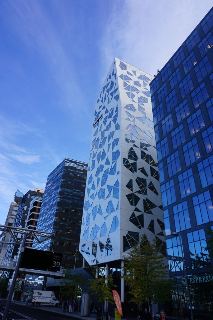 Barcode Buildings, Oslo