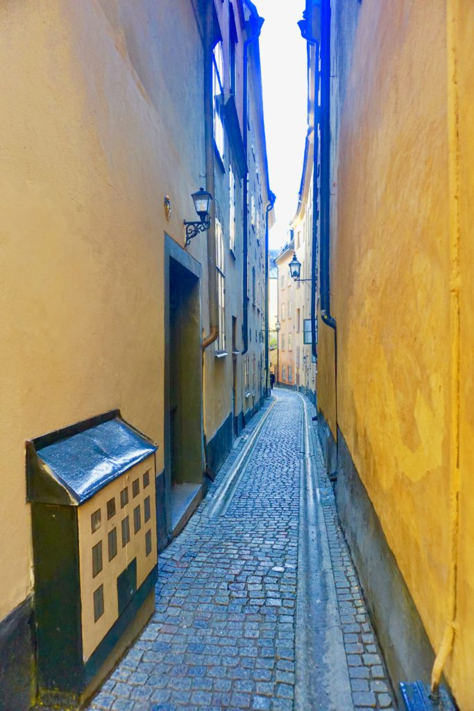 Narrow Streets in Gamla Stan