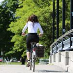 Biking in Montreal
