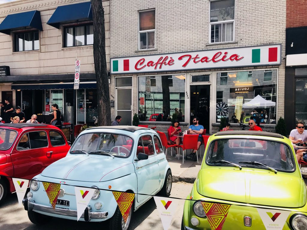 Grand Prix weekend in Little Italy Montreal