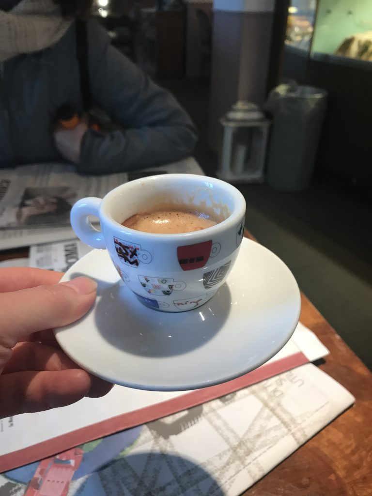 Start your day with an espresso !