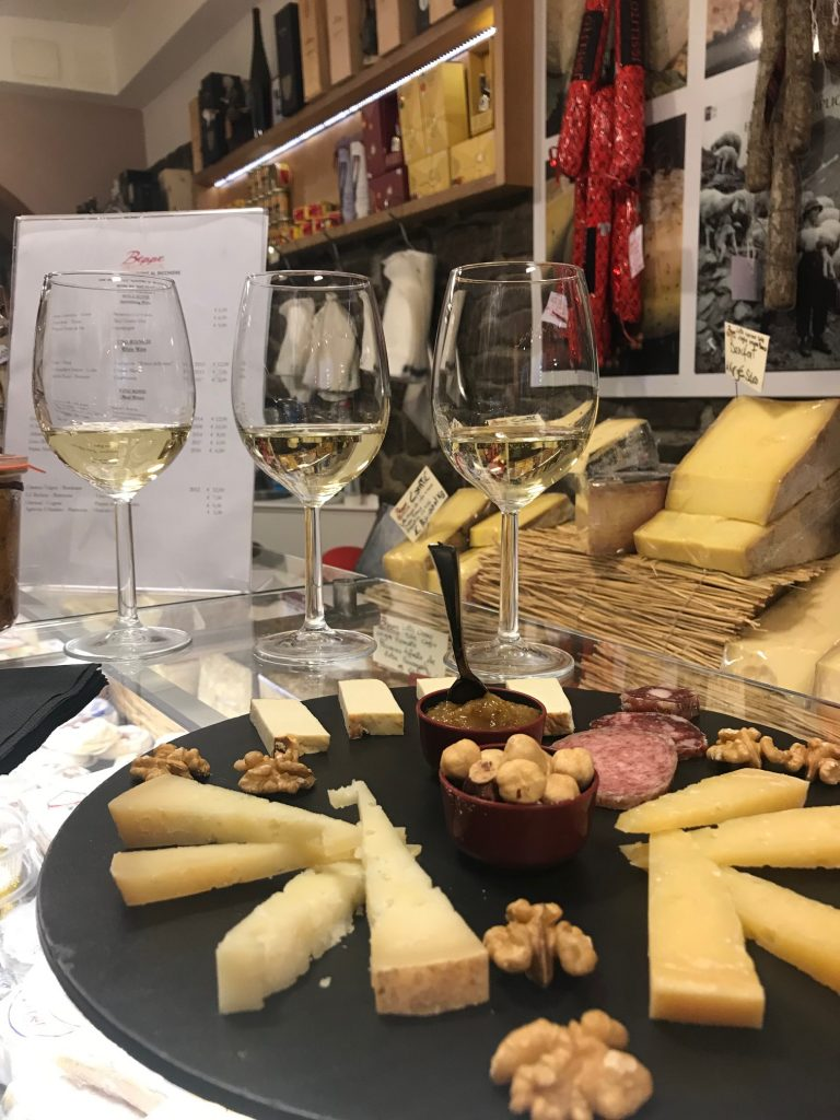 Beppe and His Cheeses Shop