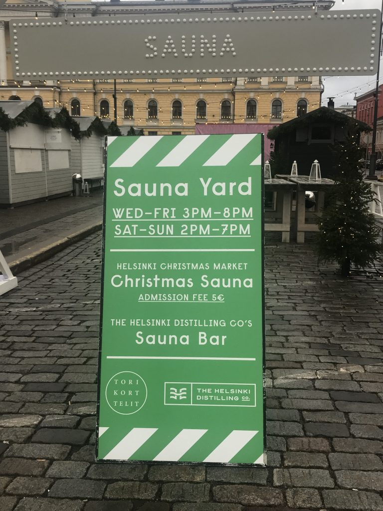 Sauna at Market