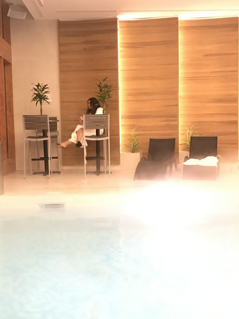 Calm Oasis at Spa Aroma