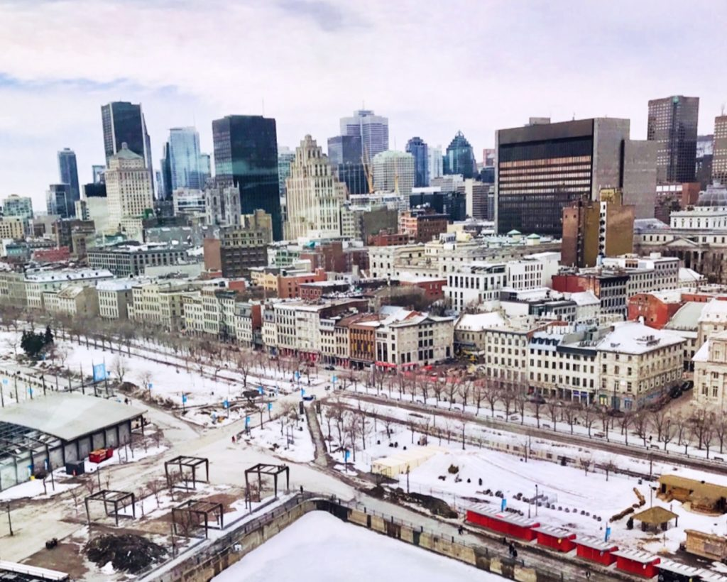 Aerial Views of Montreal