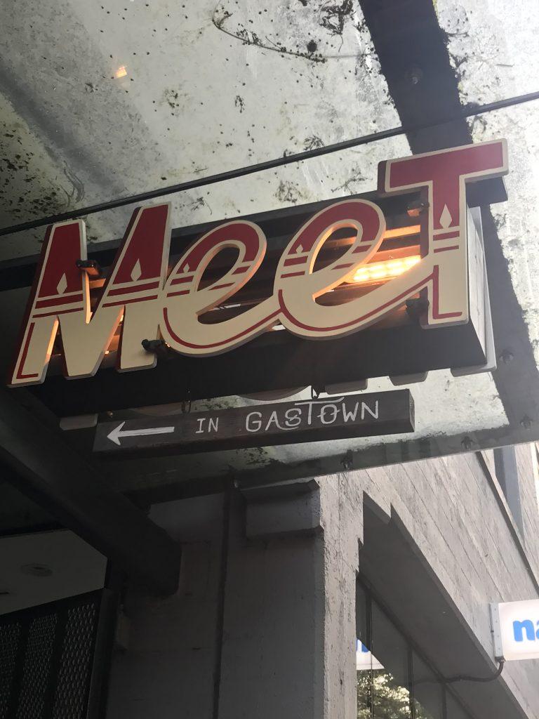 Meet Restaurant Gastown Vancouver
