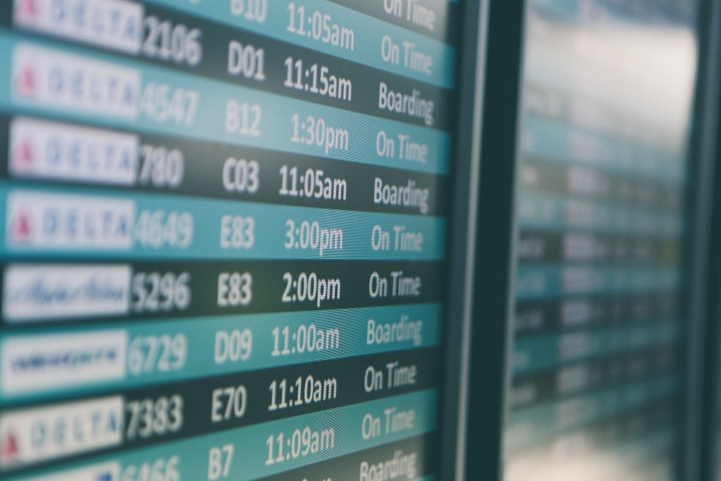 Delayed, cancelled or denied boarding ? Picture credit matthew-smith-OiiThC8Wf68-unsplash