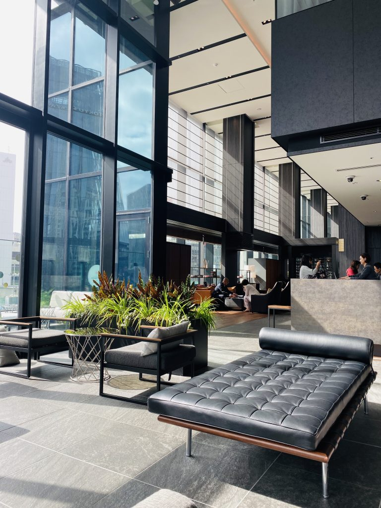 Urban Chic Style at The  Gate Hotel Tokyo