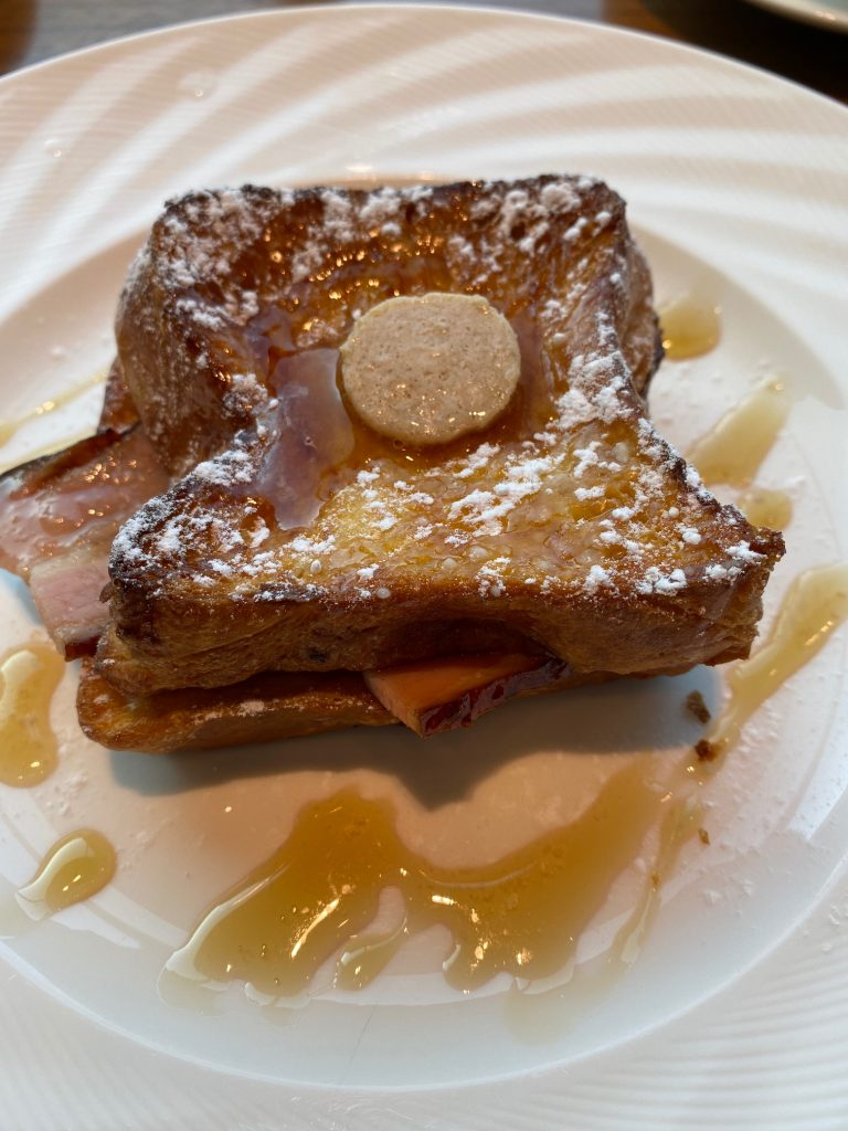 Delicious French Toast on Menu