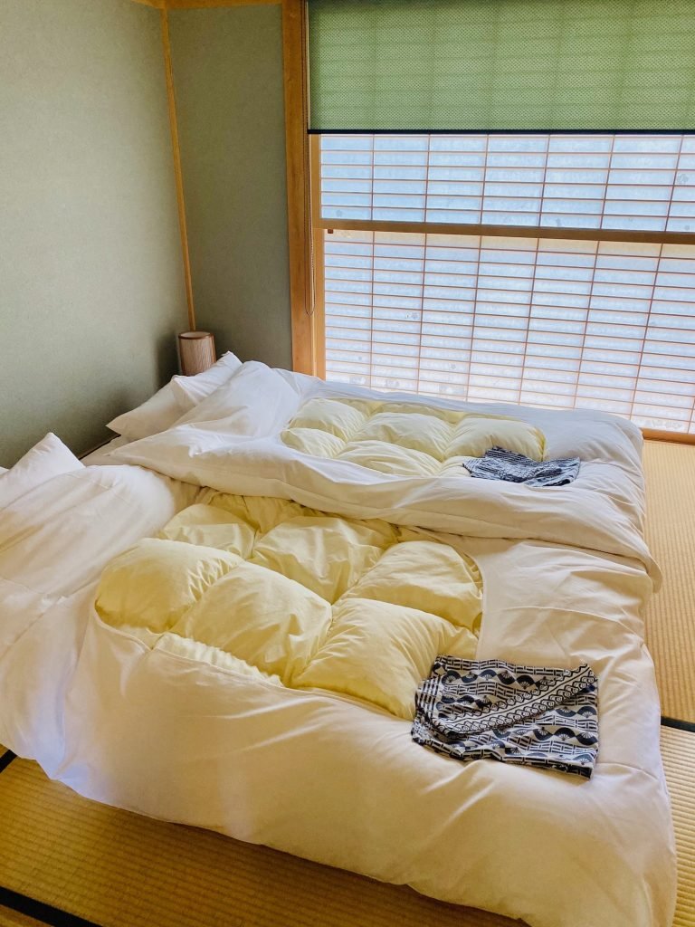 Sleep in Typical Futons ryokan-authentic-japanese-experience