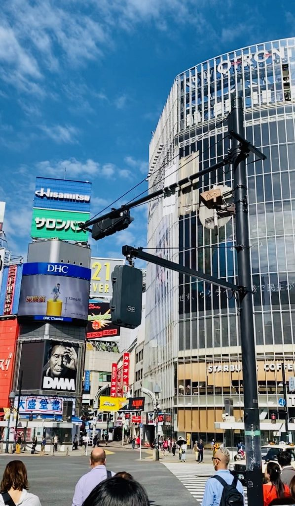 Shibuya-least favourite area- fact on Japan