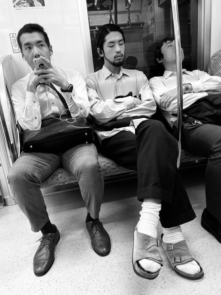 Japanese on Trains -Visit Tokyo