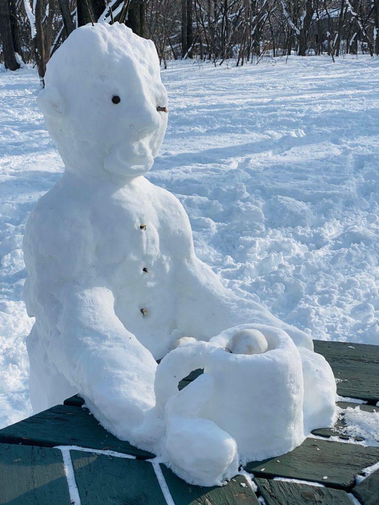 snowmen in montreal